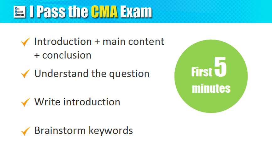 Cma Usa Essay Type Questions - image 5
