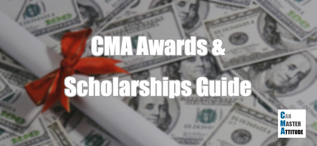 CMA exam awards