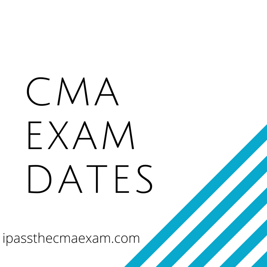 cma exam dates cma testing window