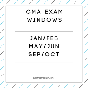 cma exam windows