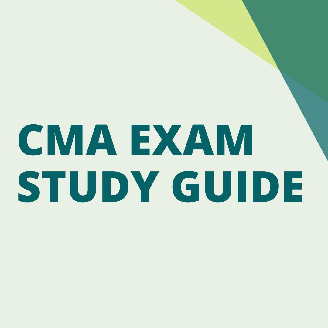 cma exam study guide