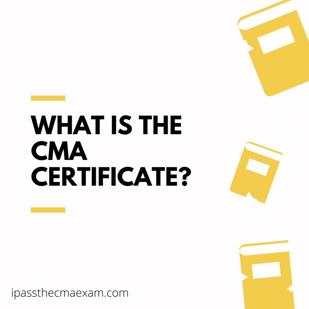 what is a cma certificate
